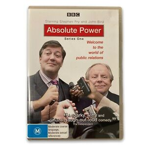 Absolute Power Series 1 DVD Stephen Fry, John Bird comedy - Free Postage