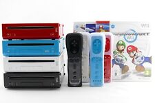 Nintendo Wii Console & 2 IN 1 Remote Motion Plus Controller New + Nunchuk, Game