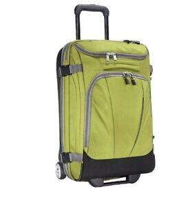 """TLS Mother Lode Mini 21"""" Wheeled Duffel Bag Luggage Carry-On Green NEW Ebags"""
