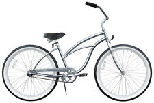 "NEW 26"" Women Beach Cruiser Bicycle Bike Firmstrong Urban chrome"