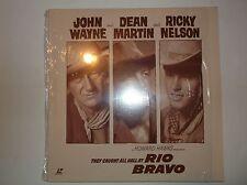 Rio Bravo, Laserdisc 11050, Warner Home Video, John Wayne, Dean Martin