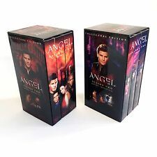 ANGEL VHS Collectors Edition Box Set Season 2 Part 1 and 2