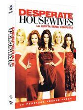 DESPERATE HOUSEWIVES - STAGIONE 5 (7 DVD) COFANETTO UNICO, ITALIANO, NUOVO