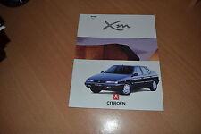 CATALOGUE Citroën XM de juin 1995 18 pages