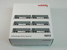 Märklin H0 46912, Hochbordwagen Set, SBB, neu, OVP