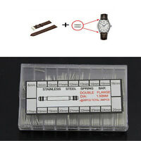 360pcs 8-25mm Stainless Steel Spring Bars Strap Link Pins Watch Band Repair Tool