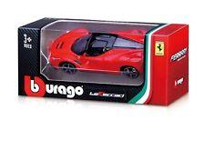 Bburago - 1:64 Scale Model Ferrari Race & Play LaFerrari (BBBR56100BLAF)