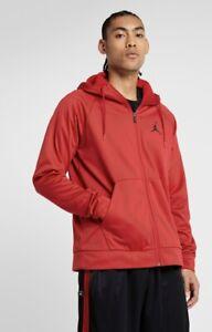 Nike Air Jordan Alpha Therma Track Jacket Red Extra Large BNWT Dri-Fit