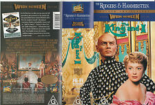 THE KING AND I RARE WIDESCREEN SPECIAL EDITION WITH AUDIO CASSETTE PAL VHS VIDEO