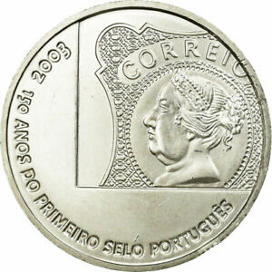 [#687303] Portugal, 5 Euro, 2003, FDC, Argent, KM:749