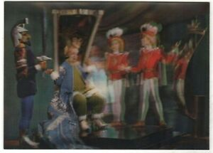 3D STEREO Lenticular Kingdom ofCrooked Mirrors Stereophoto Russian Postcard Old
