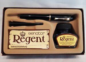 Vintage NOS Senator Regent M nib piston filled fountain pen West-Germany