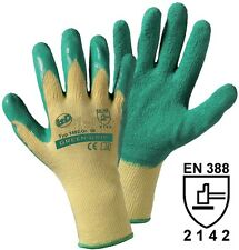 Griffy 1492SB Green Grip Strickhandschuh mit Latexbeschichtung  Größe 10; Neu