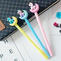 8Pcs Fashion Cute Cartoon Lovely Unicorn Ball Pens Office School Stationery Kids