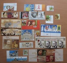Set 38 Stamped Postal Stamp Ukrainian Pieces  Parcel Envelope Slaked Ukraine Rar