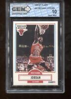 Michael Jordan 1990-91 Fleer #26 HOF Chicago Bulls GEM MINT 10
