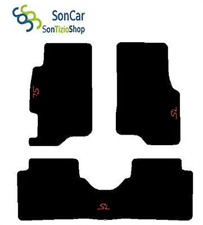 ALFOMBRILLAS HONDA CIVIC 5 Puertas 96-01 A MEDIDA bordado: SI + 4 bloques