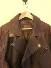 UGG Australia Men's Vaughn Moto Leather Jacket - NWT $895 XL - Dark Chocolate