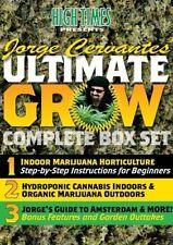 High Times Presents: Jorge Cervantes Ultimate Grow Box Set [3 Di (2008, DVD NEW)