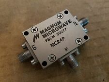 Magnum Microwave MC24P Double Balanced Mixer 1-3.4GHz RF LO IF SMA(f) 59277 #140