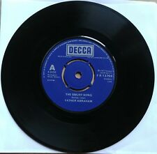 """FATHER ABRAHAM The Smurf Song/The Magic Flute Smurf DECCA Records UK 45 7"""""""