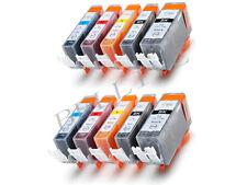 KIT 10 Cartucce Stampante per Canon CLI 8 PGI 5 Pixma MP510 MP520 MX700 IX5000