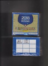 PANINI  wm 2018  ein box mit 100  tüten