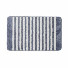 Striped Oval Medium Bath Mats