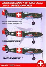 KORA Decals 1/48 MESSERSCHMITT Bf-109E-3A EMIL Swiss Air Force Part 3