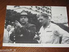 (206)=G.P. F.1 MONTECARLO 1962 COOPER E MECCANICO=RITAGLIO=CLIPPING=FOTO=