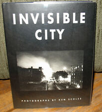 SIGNED Ken Schles Invisible City Gravure Limited Ed 2000 Urban Life HC DJ