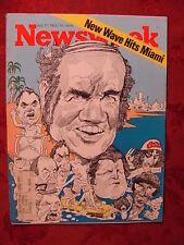 NEWSWEEK July 17 1972 Jul 72 DEMOCRAT CONVENTION JAPAN CHESS NEWPORT JAZZ +++