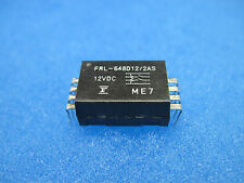 NEW FUJITSU Reed Relays (FRL-648D12/2AS): DPST, 12V Coil,  2 Form A ($4.95/ea)