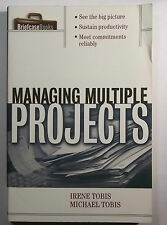 MANAGING MULTIPLE PROJECTS-IRENE & MICHAEL TOBIS-MANAGEMENT STRATEGIES-GUIDE