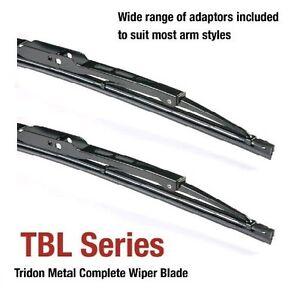 fits Subaru GF 04/75-12/78 14/14in Tridon Frame Wiper Blades (Pair)