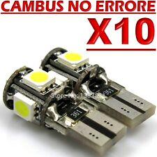 10 LED T10 5 SMD No Errore BIANCO Xenon CANBUS Lampadine Per Targa Posizione W5W