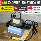 NEW 40W Soldering Iron Station Kit De-soldering Temperature Controlled