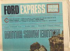 Ford Express Corsair Special October 1963 UK Market Brochure Capri Cortina
