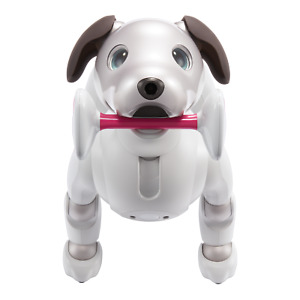 """4 item set of Sony Aibo Electric dog  """" PAW PADS + Meal Bowl +AIBONE + Dice"""""""