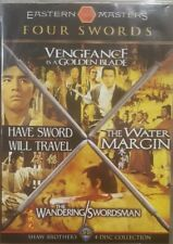 FOUR SWORDS RARE DVD SHAW BROTHERS 4-DISC COLLECTION BOX SET THE WATER MARGIN ++