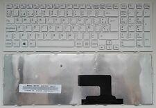 TECLADO PARA Sony V116646ES1 Sony V116646F SP BLANCO CON MARCO ESPAÑOL WHITE
