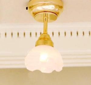 Dolls House Lamp Retro Hanging Lamp Lamp 12v #5ac37-25