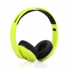 Bluetooth 3.0 Headset Wireless Wired Stereo Super Bass Music Headphone with Mic