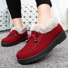Bow Ladies Boots Comfortable Non-slip Warm Boots Plush Cotton Shoes