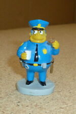 Jefe Wiggum Simpson Figura Tm & 2003 Fox