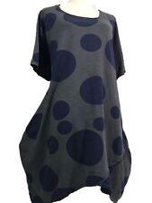 Casual Damenkleider aus Baumwolle in Übergröße