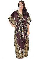 Long Kaftan dress Hippy Boho Maxi, Plus Size Women Caftan Tunic Dress Night Gown