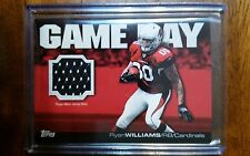 2011 Topps Game Day GDR-RW Ryan Williams Jersey Relic Arizona Cardinals
