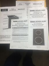 Manuals from Jenn-Air SVE47500 range