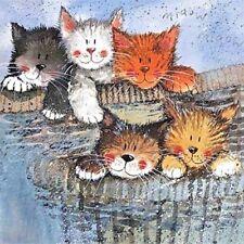 "Alex Clark Cat Kitten Cute Kitty Fridge Magnet ""Kittens"" Wonderful Gift Free P&P"